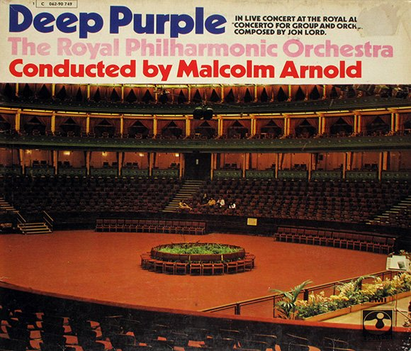 Deep Purple  - Royal Philarmonic Orchestra (1969)