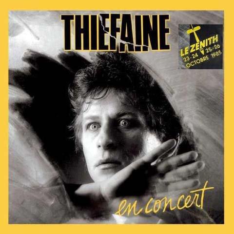 Hubert Félix Thiéfaine Concert au Zénith de Paris octobre 1985