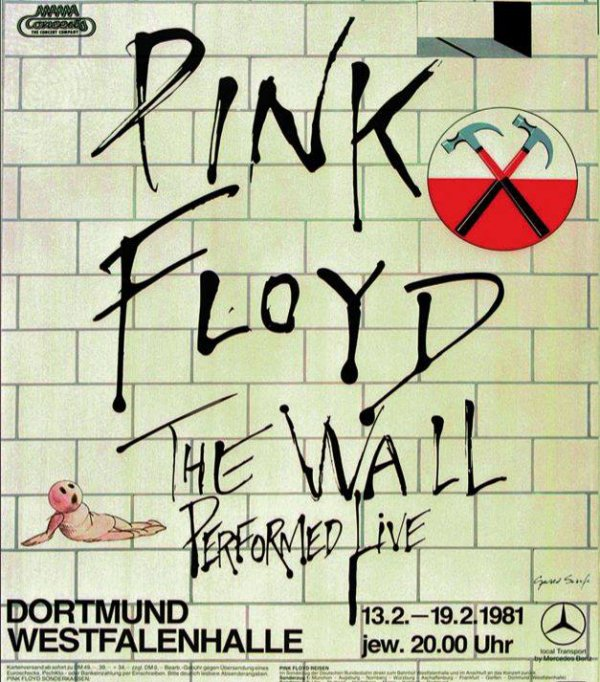 In 1981, the band played eight shows in Dortmund - here's the poster advertising them:
