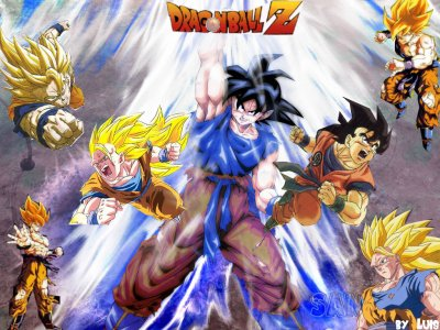 Fond D écran Sangoku De Luis Fond D écran Dragon Ball Z