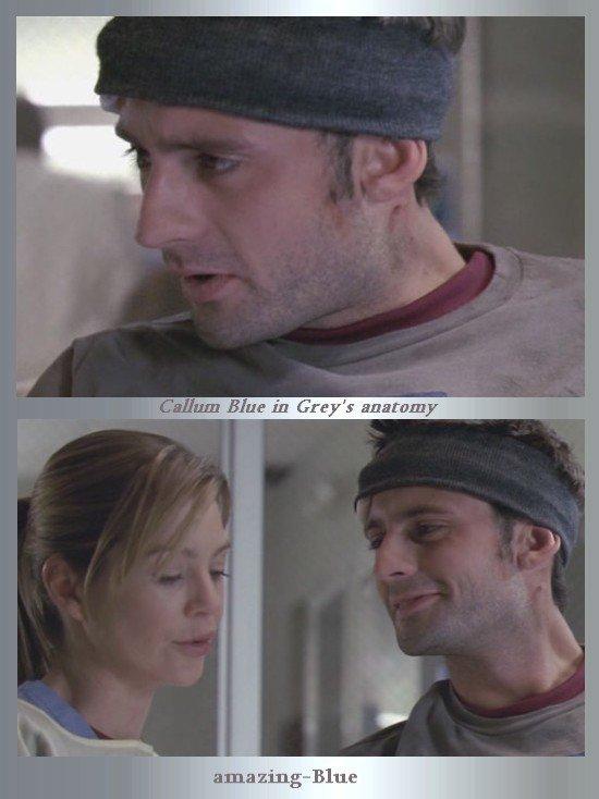Callum Blue dans Grey's Anatomy ,épisode Viper