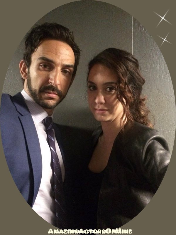 Aram  & Samar dans The Blacklist