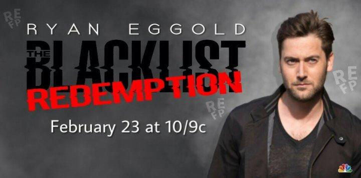 Ryan Eggold dans The Blacklist Redemption news
