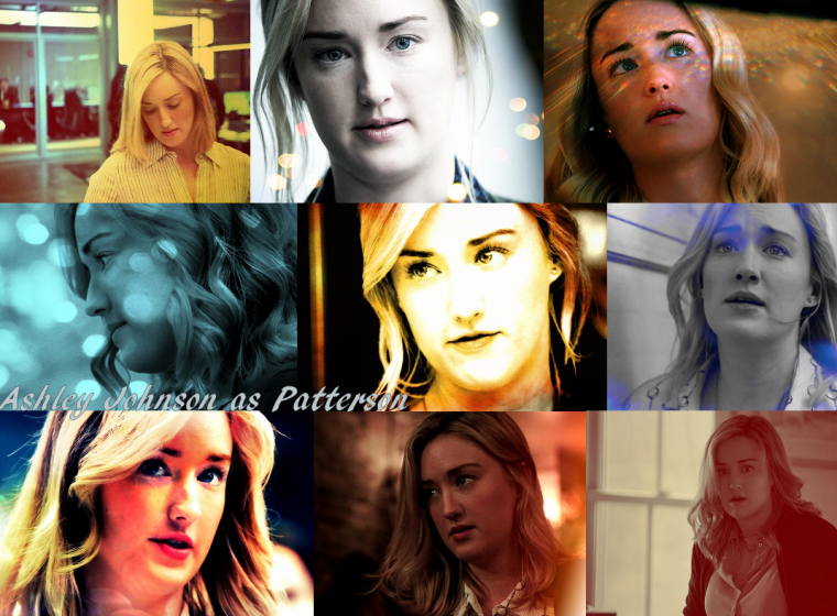 Ashley Johnson dans le rôle de Patterson ,Blindspot