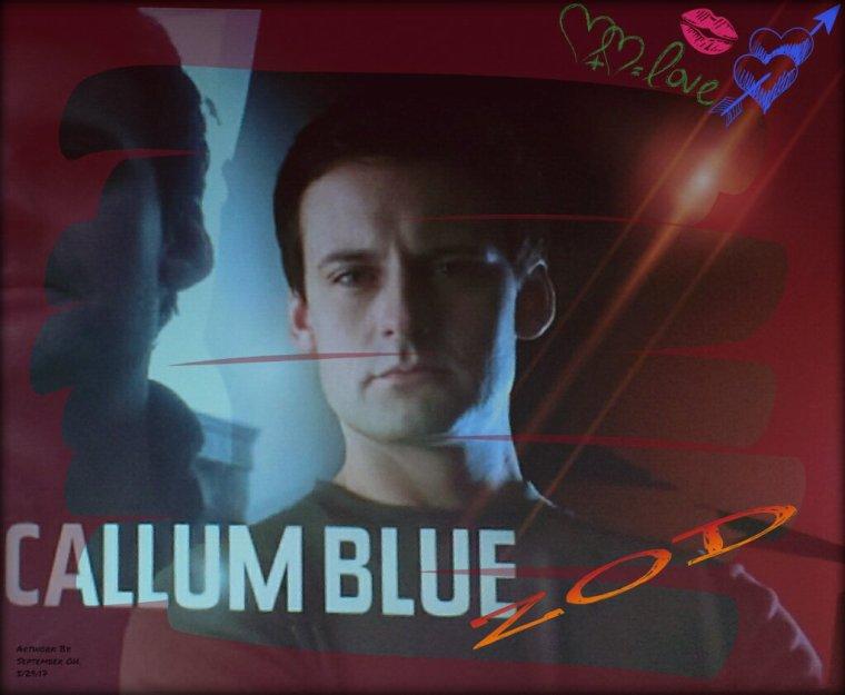 Callum Blue en août