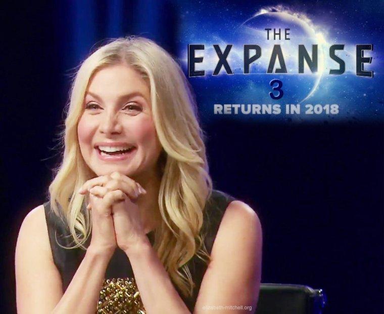 Elizabeth Mitchell rejoint la série The Expanse Saison 3