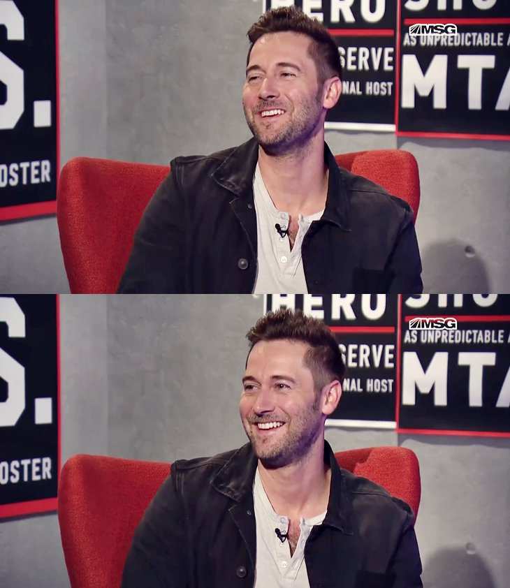 Ryan Eggold interview  pour Literally, Right Before Aaron