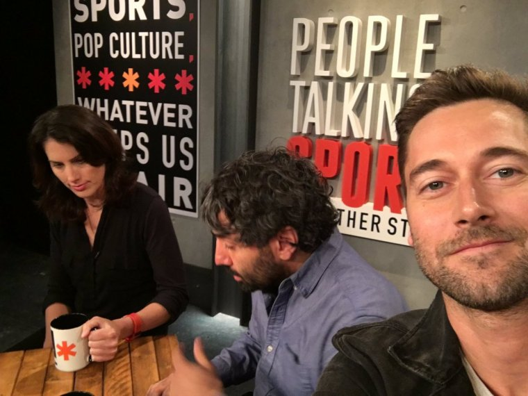 Ryan Eggold parle sports pour MSG Networks