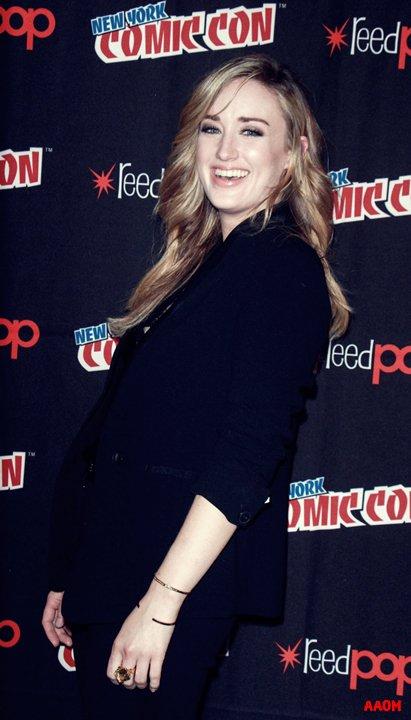 Ashley Jonhson pour Blindspot saison 3 au Comic Con de New Yok