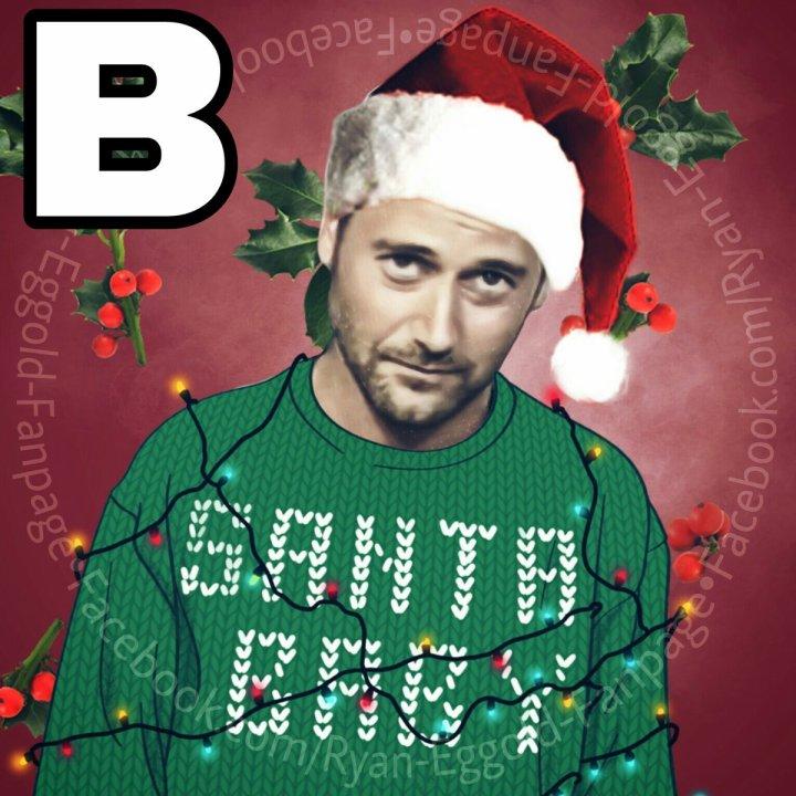 Ryan Eggold en décembre réseaux sociaux