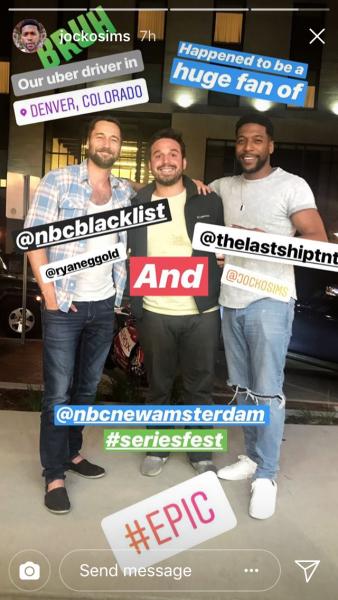 Ryan pour la série New Amsterdam suite en juin