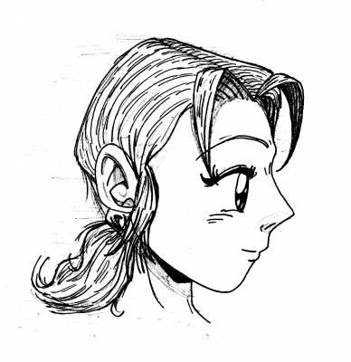 Femme de profil rat e dessins en vrac - Dessin de profil ...