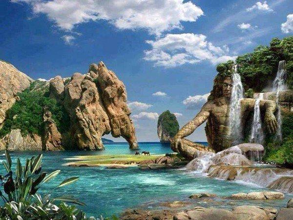 .mers ,oceans,plages,point d'eaux ,ruisseaux exct...