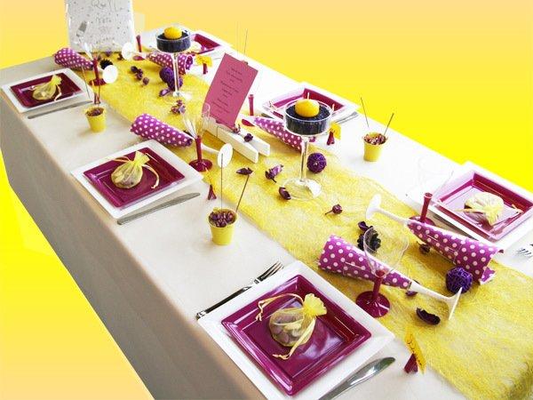 jolies tables
