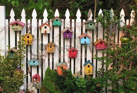 recyclée pour le jardin