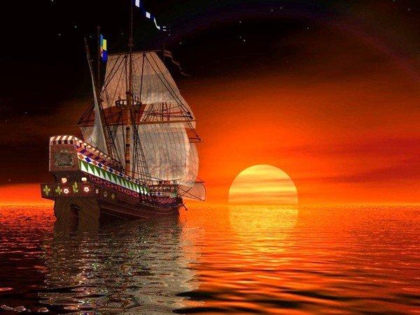 bateaux,corsaires,pirates...