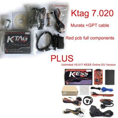 VIP price for KESS V2 V5.017+K-TAG V7.020 red pcb board