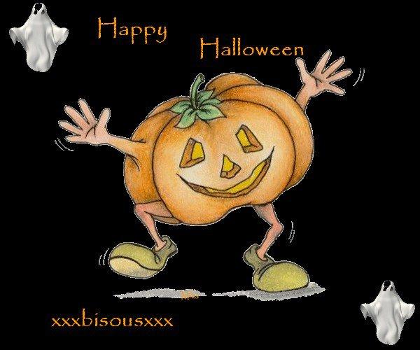 bon halloween xavier bisous jtm ptit frere