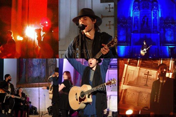 *  8 déc ; Concert dans une église a new York