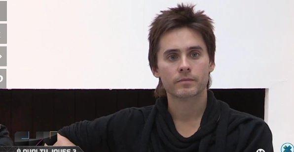 *   Jared dans l'émission ''carrement jeu '' sur W9
