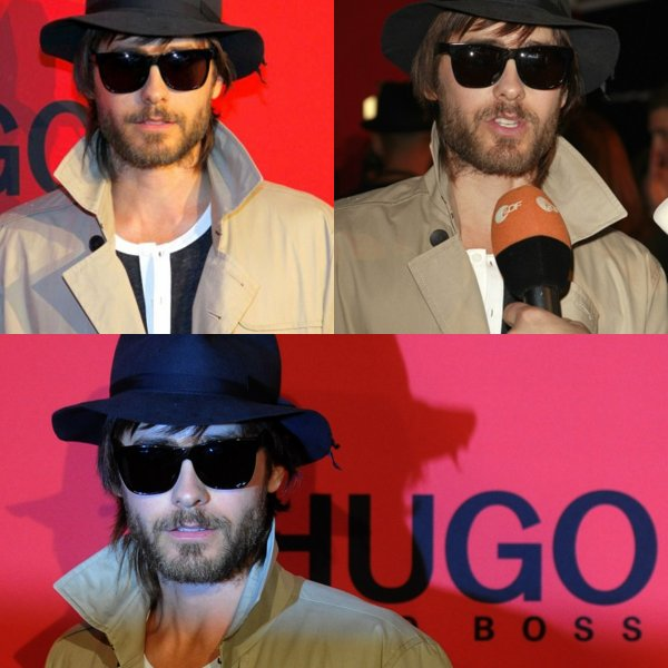 19 Janvier : Jared a la fashion week de Berlin pour Hugo Boss