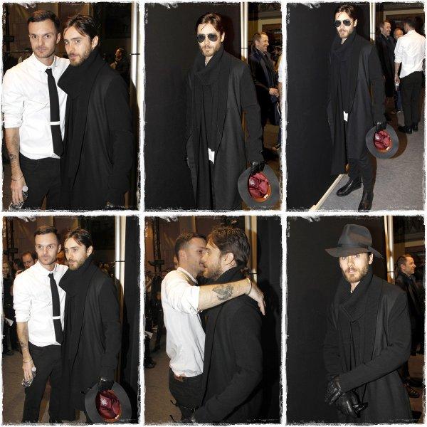 20 Janvier : Jared a Paris pour la Fashion Week