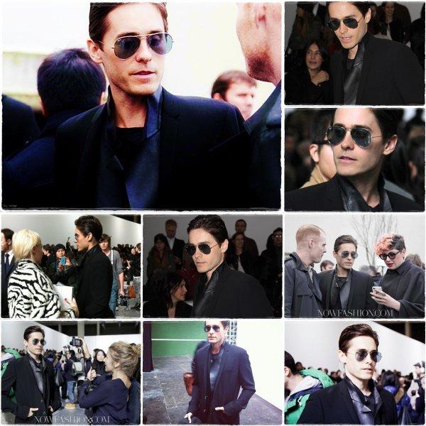 21 Janvier : Jared au défilé de Dior a Paris 1/2