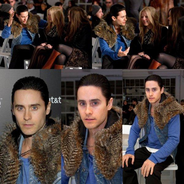 14 février : Jared a la fashion week de New York