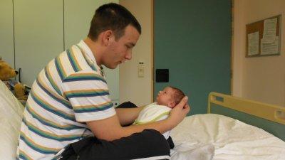 Logan et son papa