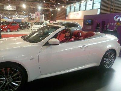 Salon de l'auto avec Mélanie et Elif ♥