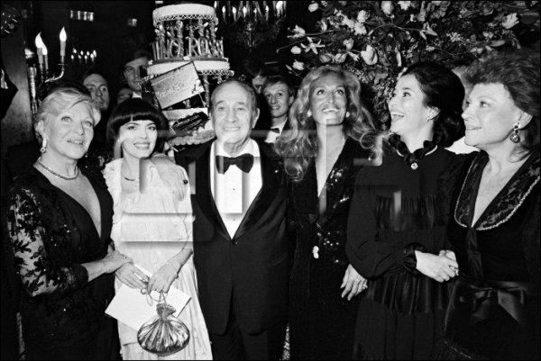 Line Renaud, Mireille Mathieu, Tino Rossi , Dalida, Marie-Josée Nat et Régine