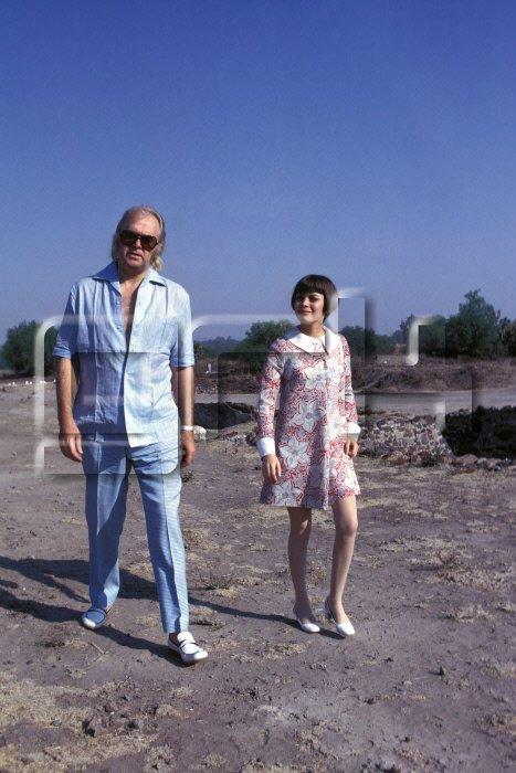 Johnny Stark et Mireille Mathieu au Mexique