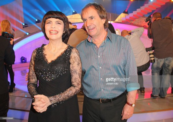 Avec le chanteur Chris De Burgh