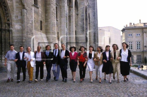 Les frères et soeurs Mathieu ( 7 garçons et 7 filles)