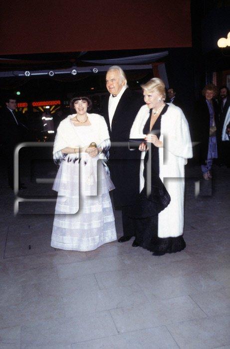 Mireille avec Johnny Stark et Line Renaud