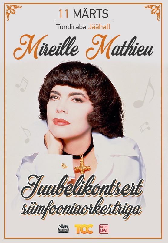 Mireille Mathieu en concert ce soir 11 mars à Tallinn en Estonie.