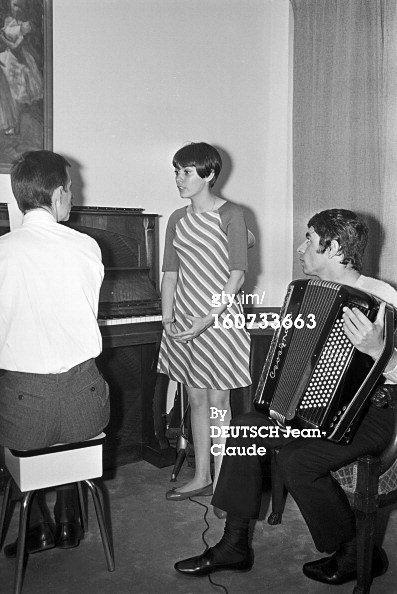 Paul Mauriat, Mireille Mathieu et Francis Lai