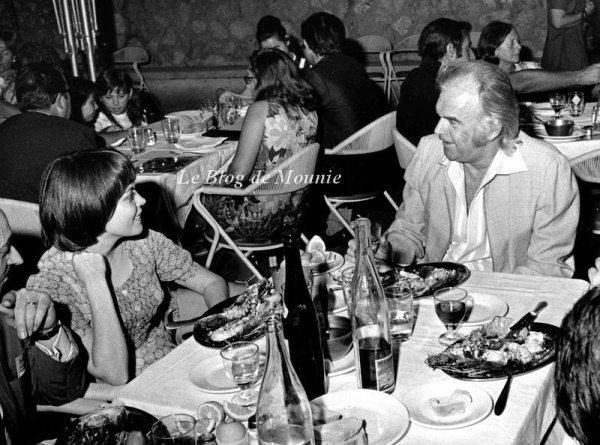 Mireille Mathieu et Johnny Stark