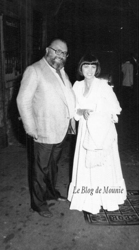 Mireille Mathieu et Sergio Léone