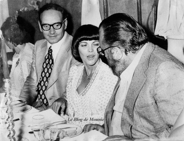 Ennio Morricone, Mireille Mathieu et Sergio Léone