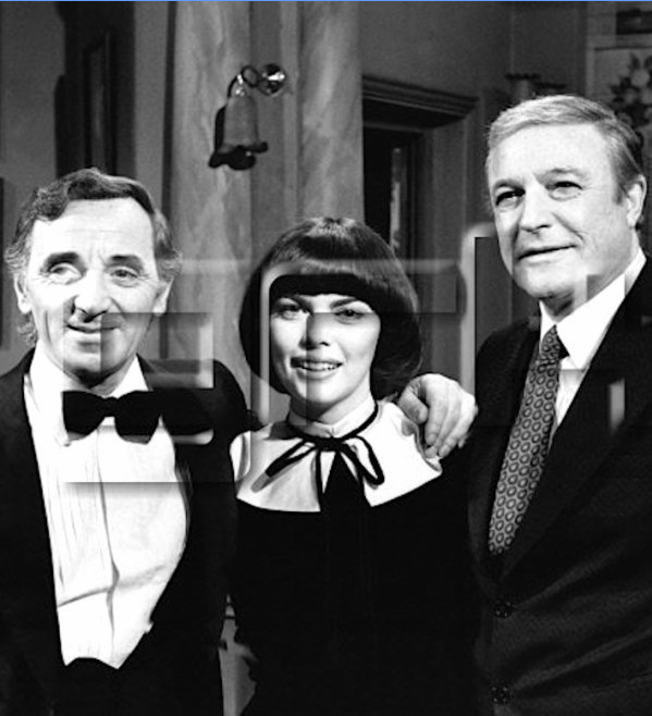 Charles Aznavour, Mireille Mathieu et Gene Kelly