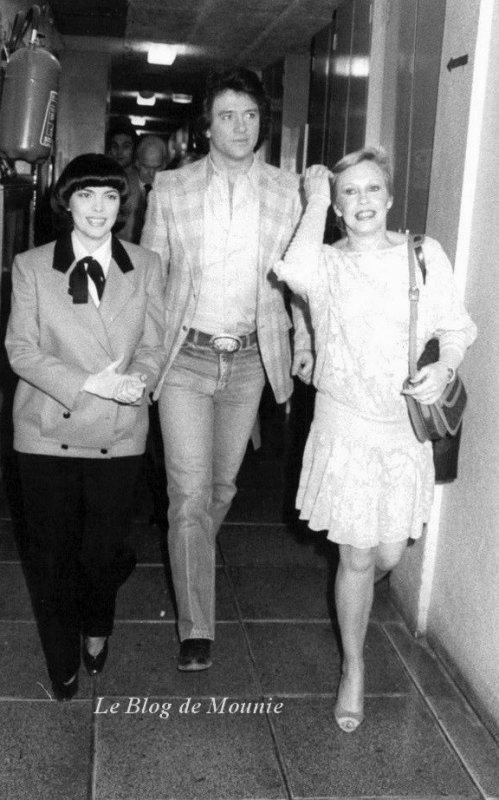 En compagnie de Parick Duffy et de sa femme Carlyn