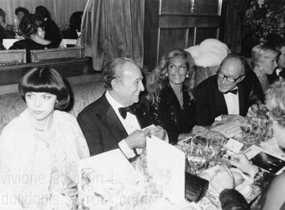 Mireille,  Tino Rossi et Dalida