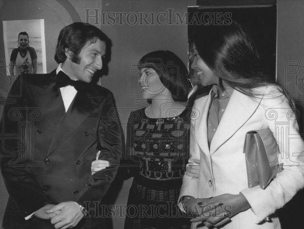 Alain Colas et Mireille Mathieu en 1973