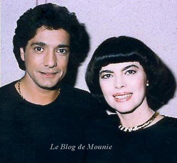 Frédéric François et Mireille Mathieu