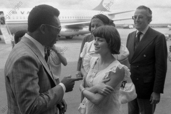 Le roi Pelé un ami  cher à Mireille