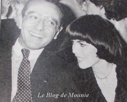 Mireille et Yves Mourousi
