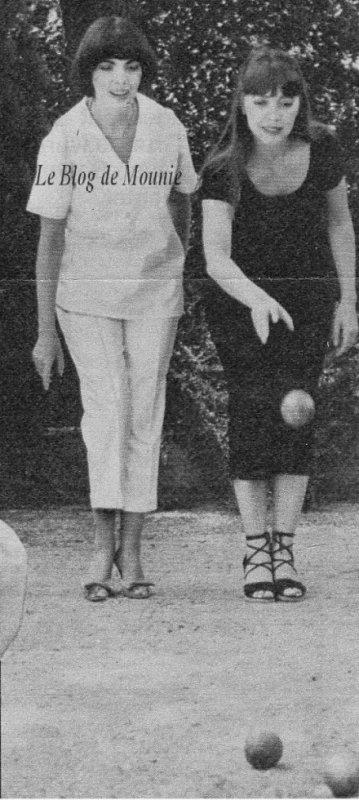 Mireille et sa soeur Matite