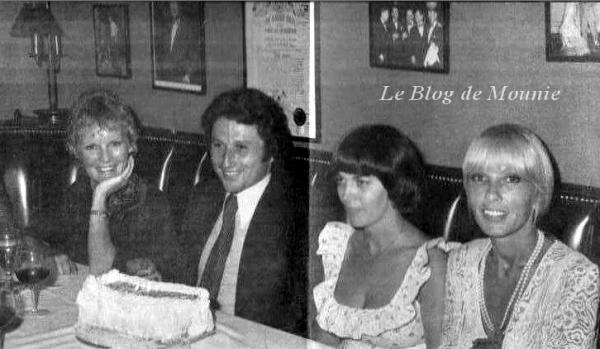 Petula Clark, Michel Drucker, Mireille Mathieu et Dany Saval