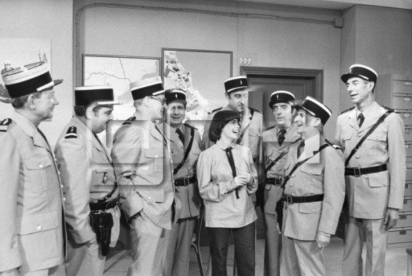 """Mireille et """"Les gendarmes de Saint-Tropez"""""""